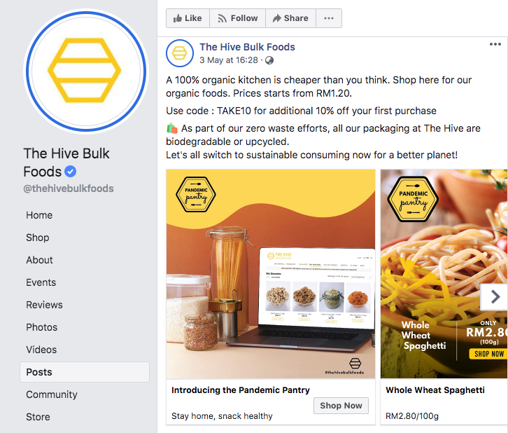 the hive bulkfood consumer trend